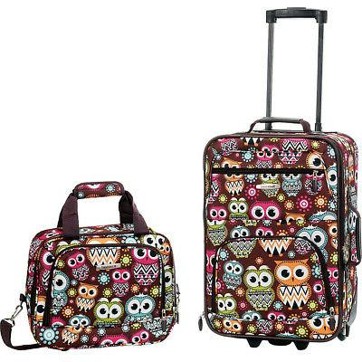 Rockland Luggage Rio 2 Piece Carry On Luggage Set 29 Colors