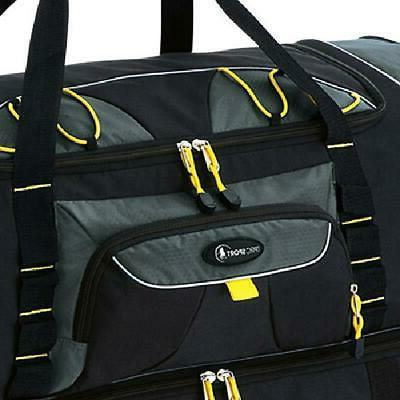 """Rolling Bag Travel Tote Carry Suitcase 36"""""""