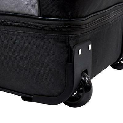 """Rolling Wheeled Duffle Bag Travel Tote Carry Suitcase Luggage 2 36"""""""