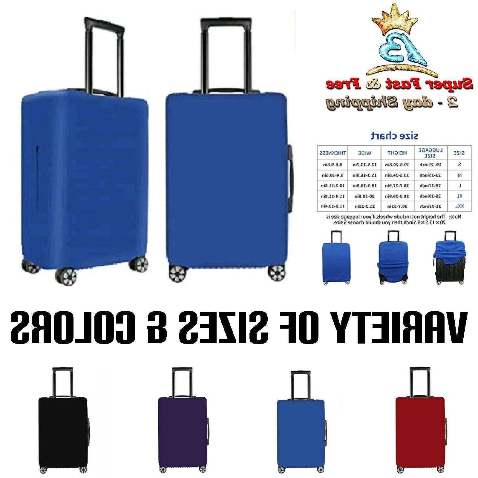 """Suitcase Zipper Cover Fits 19-32"""" Travel Luggage Carry On Ba"""