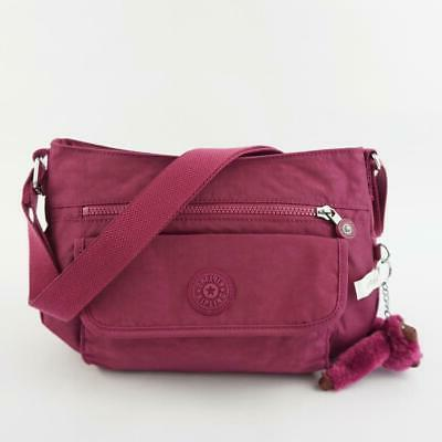 syro travel shoulder crossbody bag stone purple