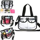 cosmetic makeup toiletry clear travel wash bag