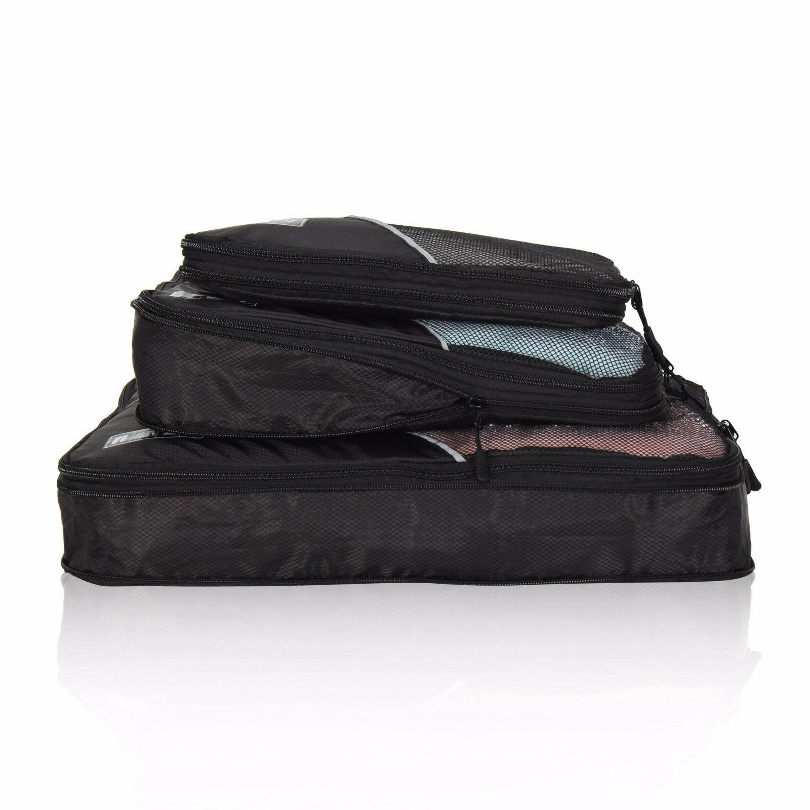 Hynes Eagle Travel 3pcs Travel Organizers Compression Packin