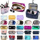 Travel Cosmetic Makeup Toiletry Beauty Box Case Wash Organiz