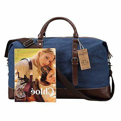 Ulgoo Bag Canvas Weekend Deep Blue