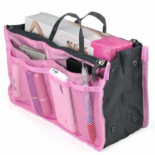 Travel Makeup Cosmetic Case Toiletry Zipper