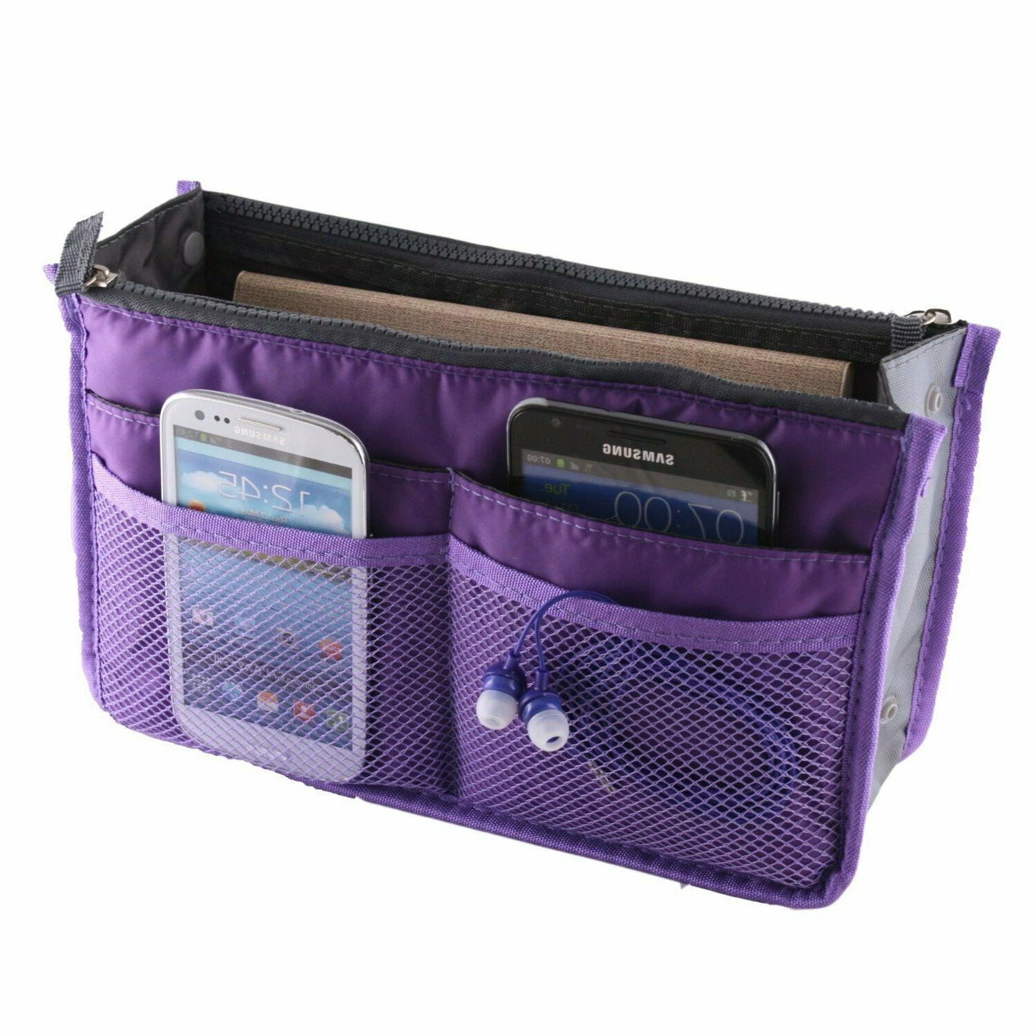 Travel Bag Case Beauty Organizer Zipper Holder