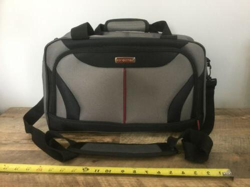 travel overnight bag weekender carry on gray