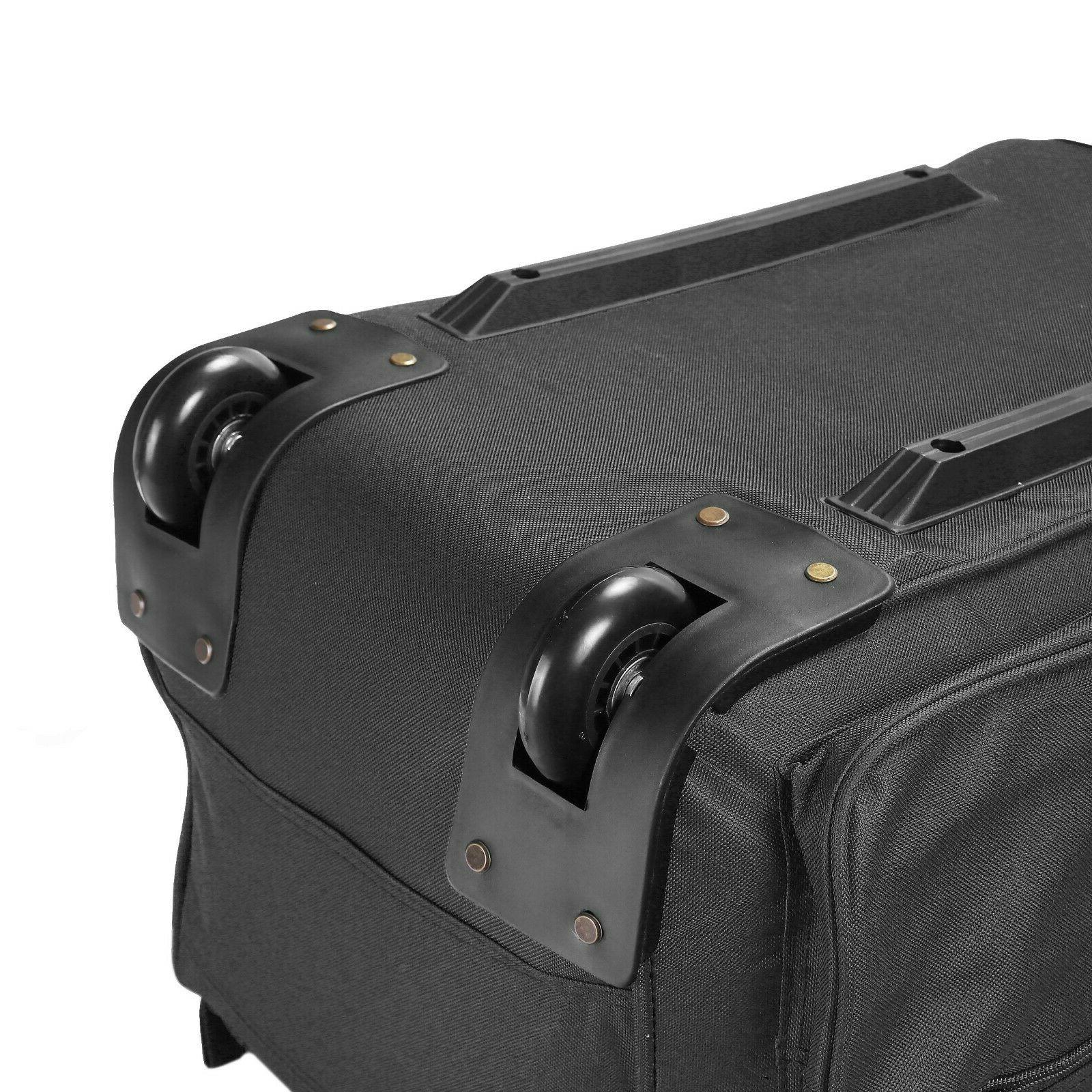 Luggage Rolling Wheeled Carry OnSuitcase