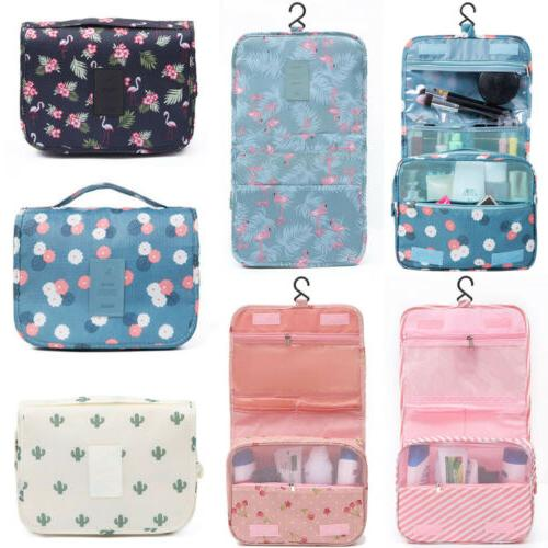 US Travel Cosmetic Bag Toiletry Organizer Storage Hanging Pouch