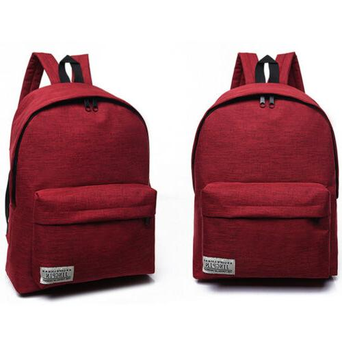 US Canvas Rucksack Book Bag