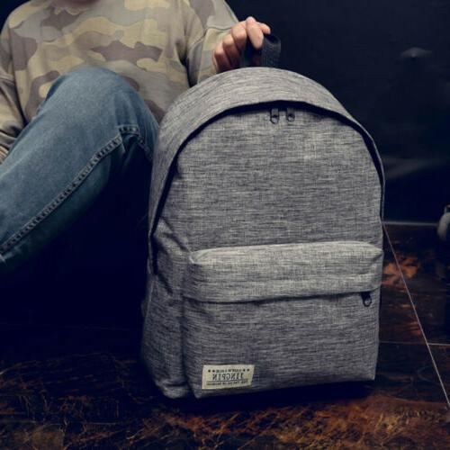 US Canvas Rucksack School Book Travel