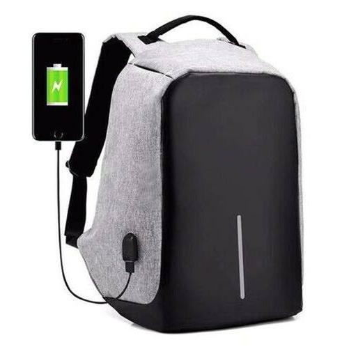 usb charging anti theft mens womens backpack