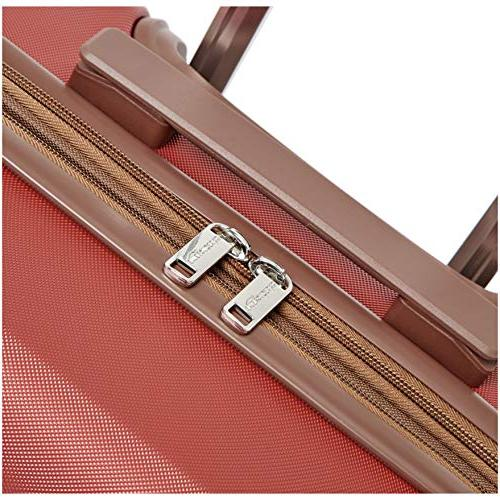 AmazonBasics Suitcase Spinner, 20-Inch Carry-On, Red