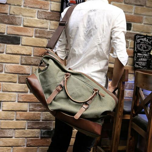 Men's Vintage Military Shoulder Handbag