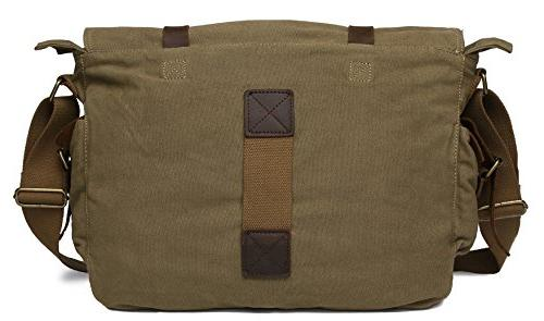 Sechunk Vintage Military Canvas Bag Bags