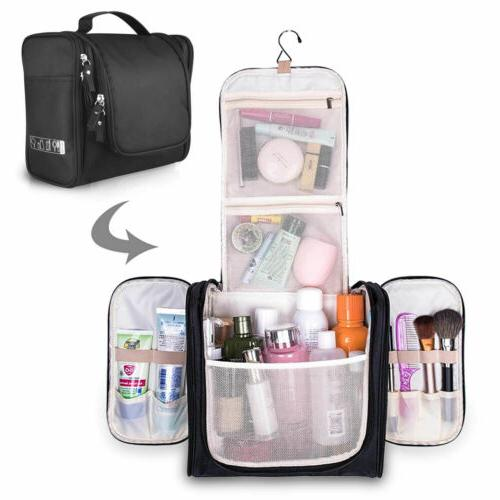 Travel Toiletry Bag Waterproof Bathroom Shower Bags with Han