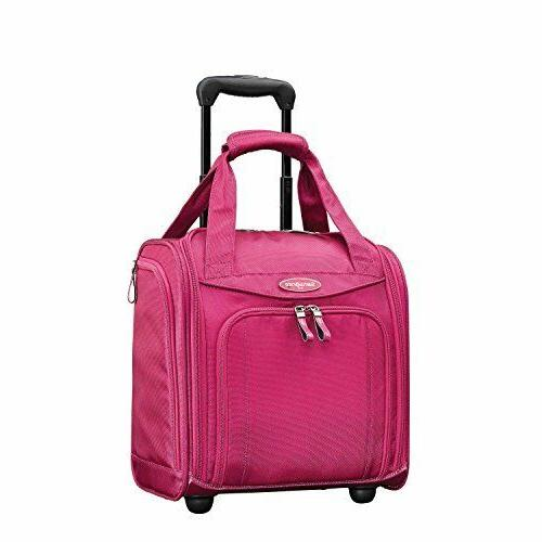 wheeled carry on 16 inch underseat luggage