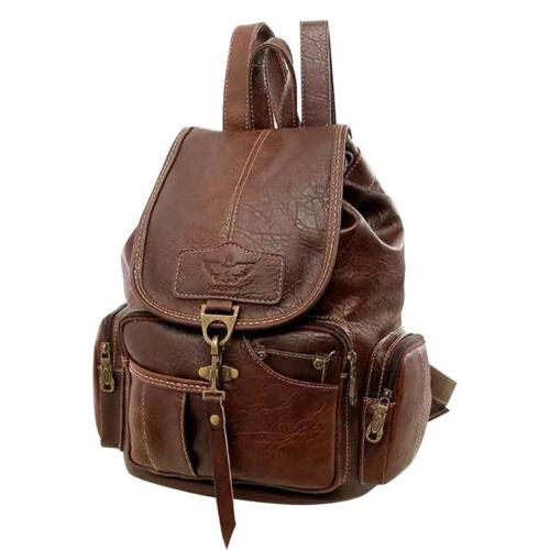 women backpack purse fashion leather ladies casual