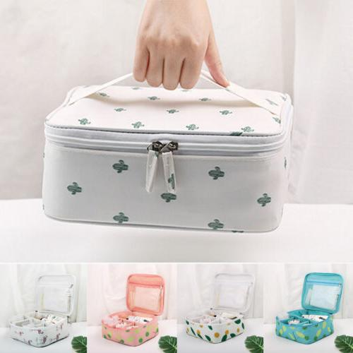 Women Ladies Travel Cosmetic Bag Make Up Case Box Pouch Toil