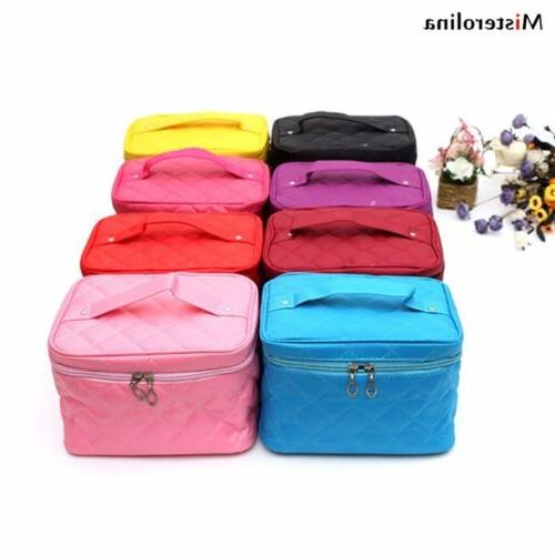 women multifunction travel pouch toiletry organizer cosmetic