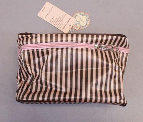 HOYOFO Portable Travel Cosmetic Bag With Holder MW7