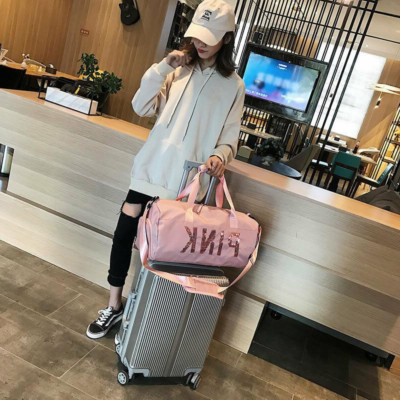 Women Spring Travel Duffle Pack Bags Hand