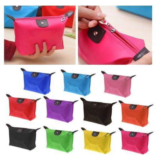 Womens Waterproof Cosmetic Travel Toiletry Bags Small Organiser Pouch