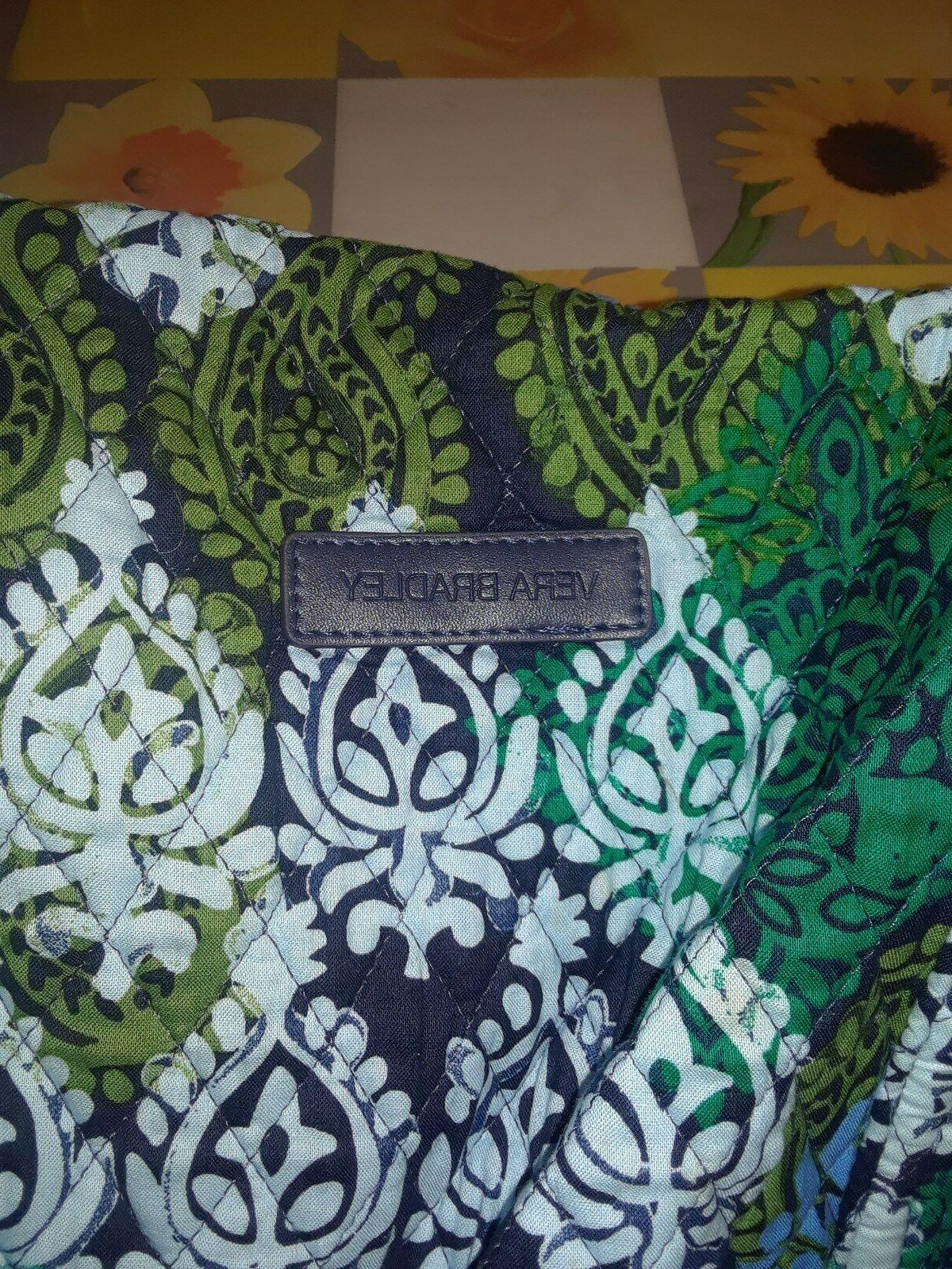 XL Vera Bradley Duffel Gym Travel Bag NWOT