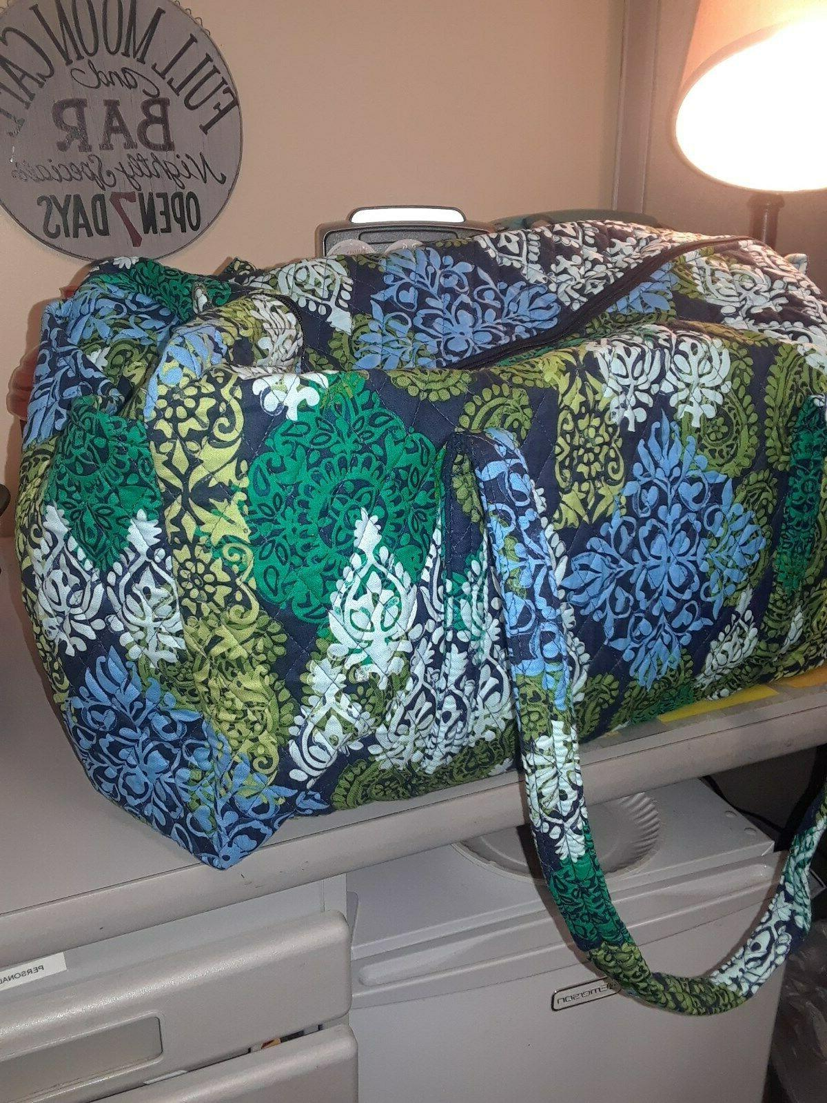 XL Vera Bradley Duffel Gym Travel