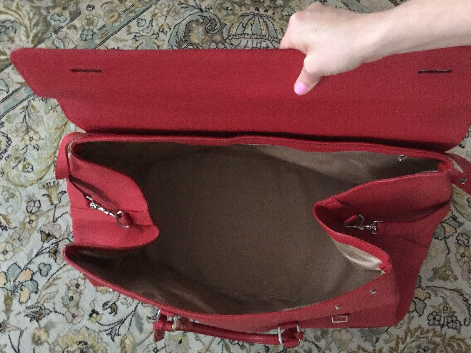 XXL Real luggage gym red vintage
