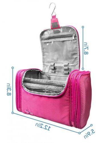TRAVANDO Bag with Large Pink