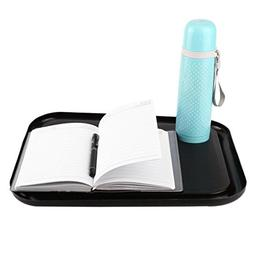 Lap Desk with Cup Holder, Portable Tray with Beanbag Base Cu