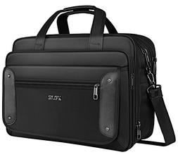 17 inch Laptop Bag, Business Travel Bag, Expandable Large Hy