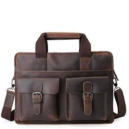 Sunsamy Laptop Bag Man Adjustable Strap Handbag Single Shoul