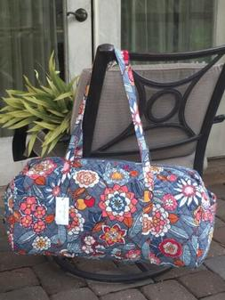 VERA BRADLEY LARGE TRAVELER DUFFEL BAG TROPICAL EVENING - NW