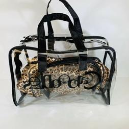 Caboodles Le Sophistique 10 Pc. Bag Set Black  Leopard Combo