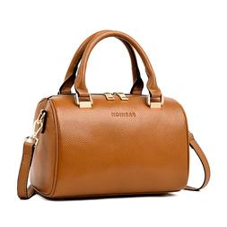 Leather Womens Handbags Totes Top Handle Shoulder Bag Satche