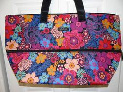 Vera Bradley Lighten Up Expandable Travel Bag - XL - Floral