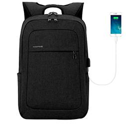 kopack Lightweight Laptop Backpack USB Port Water Resistant