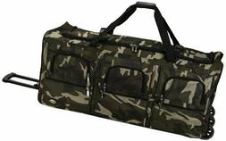 Rockland Luggage 40 Inch Rolling Duffle Bag Camouflage X Lar