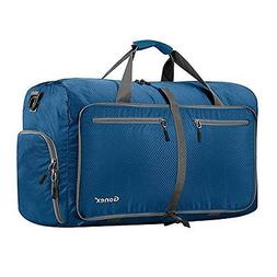 Gonex Luggage & Travel Gear 60L Foldable Duffel Bag Water Te