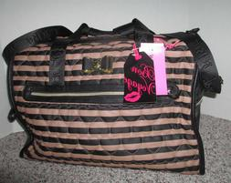 BETSEY JOHNSON LUGGAGE LARGE CARRY-ON WEEKENDER BAG/PURSE BE