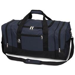 Everest Luggage Sporty Gear Bag - Large,One Size,Navy/Black