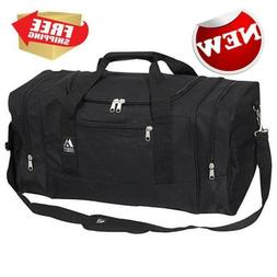 Everest Luggage Sporty Gear Bag Large Black One Size Outdoor