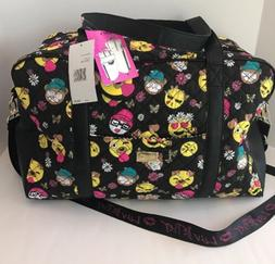 LUV BETSEY JOHNSON WEEKENDER POLKA DOTS DUFFLE DIAPER TRAVEL