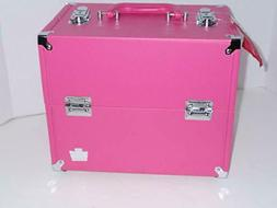 M Scratched Caboodles Soulmate Purse Make-Up Cosmetic Travel
