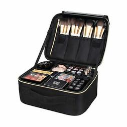 Makeup Train Cases Professional Travel Bag Cosmetic Organize