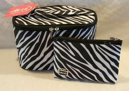 Caboodles Match Made in Heaven 2 Piece Bag Set, Monaco/Black