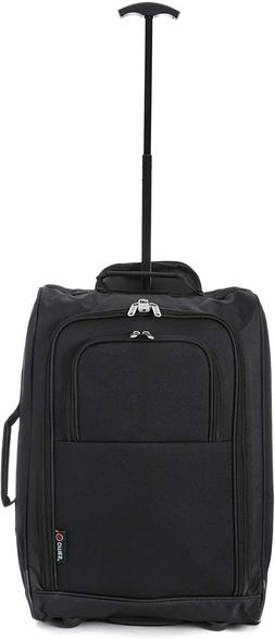 5 Cities Maximum size Carry On Hand Luggage Wheeled Travel B